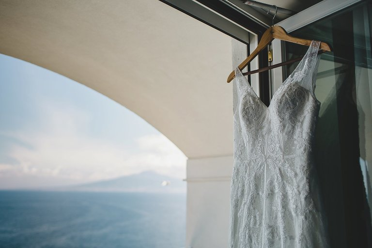 Wedding Dress Sorrento Italy