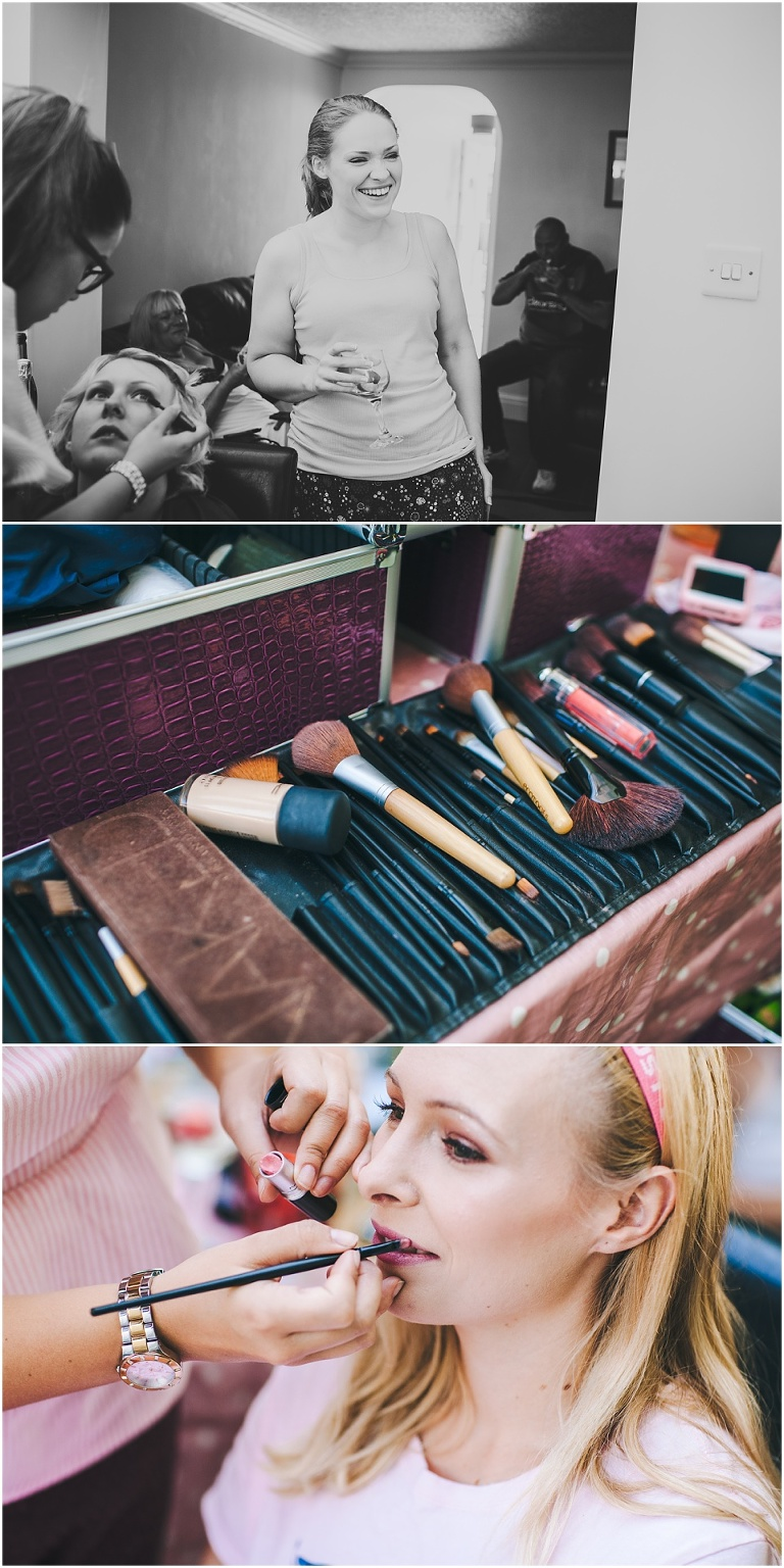 wedding bridal preparations