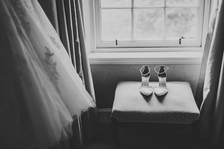 Rainbow shoes wedding Isle of Skye