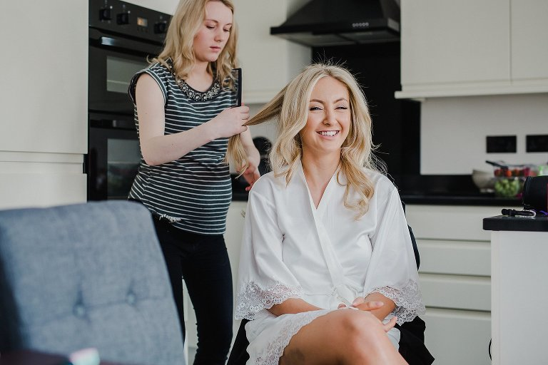 Bridal preparations, Keighley